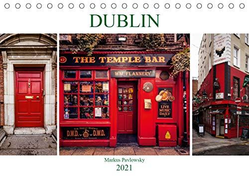 Dublin (Tischkalender 2021 DIN A5 quer)