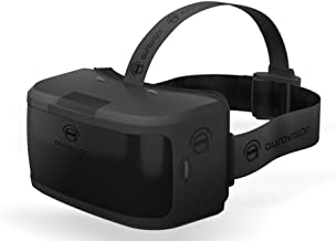 AuraVisor All-In-One Virtual Reality VR Goggles Headset - No Phone, Cables, or Computer Needed - Black - By Damson Audio