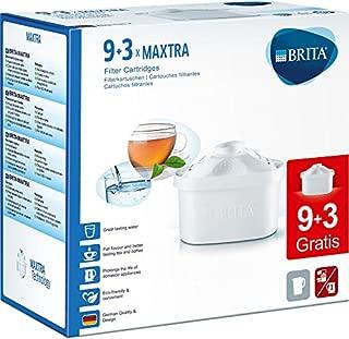 BRITA (ブリタ) MAXTRA (マクストラ) お徳用 12個 セットBRITA浄水器ポット交換用カートリッジ 12個 セット (9個+3個) JIS S 3201試験済 [並行輸入品]