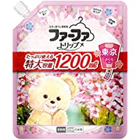 (セット販売)ファーファトリップ 柔軟剤 東京 さくらの香り 詰替用 1200mL×4個セット
