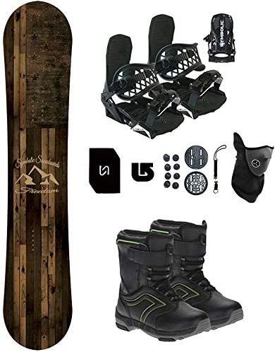 Symbolic Freedom Kids 贈答 Snowboard Package Boots Bindings 激安通販