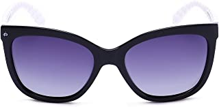 "PRIVÉ REVAUX ""The Conquistador"" Handcrafted Designer Polarized Oversized Sunglasses For Women"