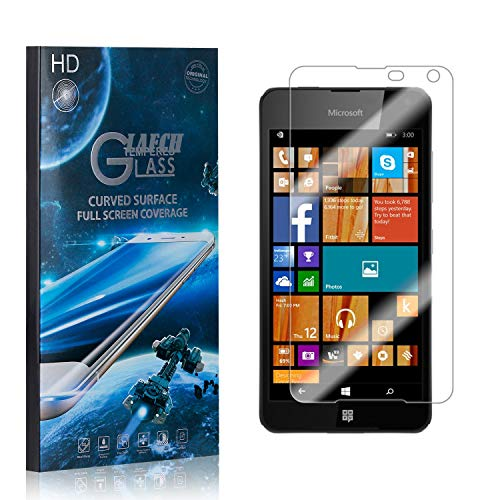 2 Stück Schutzfolie für Microsoft Lumia 650, LAFCH Displayschutzfolie für Microsoft Lumia 650, 3D Full Cover Panzerglasfolie, Anti-Kratzer/9H Härte