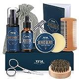 Il regalo perfetto per te stesso del tuo amato barbuto Quattro dei nostri prodotti più popolari confezionati insieme per creare un set regalo completo per la cura della barba e dei baffi Regalo confezionato e contenente tutto ciò di cui ha bisogno la...