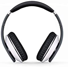 Cool Refreshing Spring & Summer Edition with Extra Bass & Crisp Sound Over The Head Headphones with an Attractive Color Finish by-i-kool (Lily White)