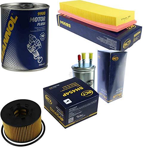 Original SCT Inspektionspaket Filter Set + Motor Flush Motorspülung 11586321