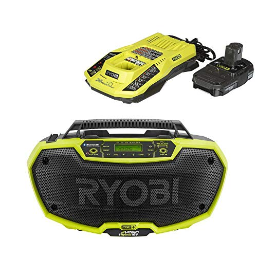 Radio Hybrid Stereo Bluetooth Wireless Technology with charger and battery (Renewed)