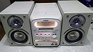 Victor ビクター JVC UX-QX1-W パールホワイト マイクロコンポーネントMDシステム (CD/MD/カセットコンポ)(本体CA-UXQX1-WとスピーカーSP-UXQX1-Wのセット)