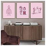 kaxiou Drucke Bilder Wandkunst Poster Mode Zeichnungen