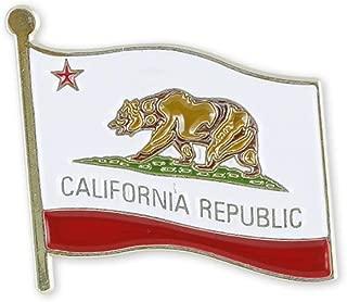 Forge California State Flag Enamel Lapel Pin (1 Pin)