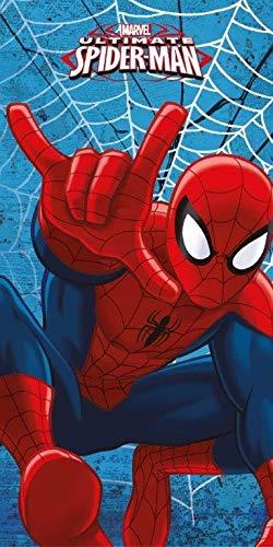 DP Spiderman Badetuch Strandtuch, 100% Baumwolle Größe: 70 x 140 cm