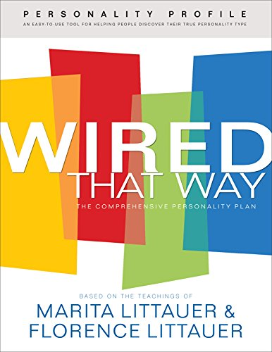 Wired That Way Personality Profile An Easy To Use Questionnaire For Helping People Discover Their God Given Personality Type