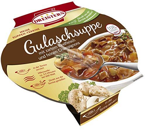 Dreistern Gulaschsuppe mit feinem Rindfleisch, 400 g