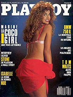 Playboy French Edition March 1988 Adult Magazine