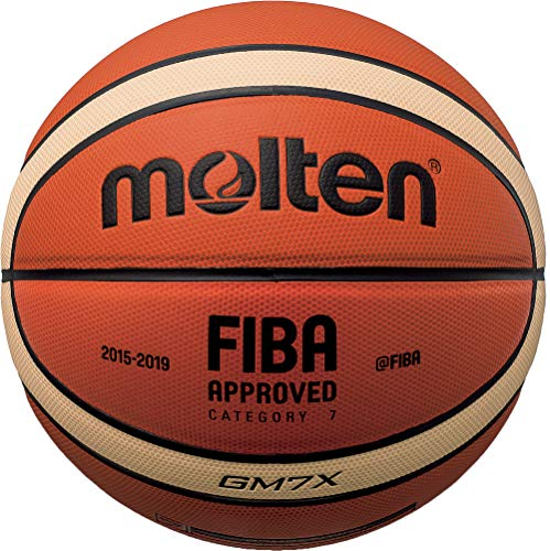 Molten X-Series Indoor/Outdoor Basketball, FIBA Approved - BGMX, Official Size 7