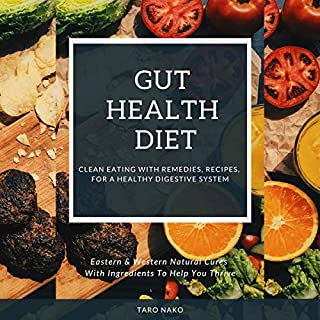 Gut Health Diet Clean Eating Recipes & Remedies cover art