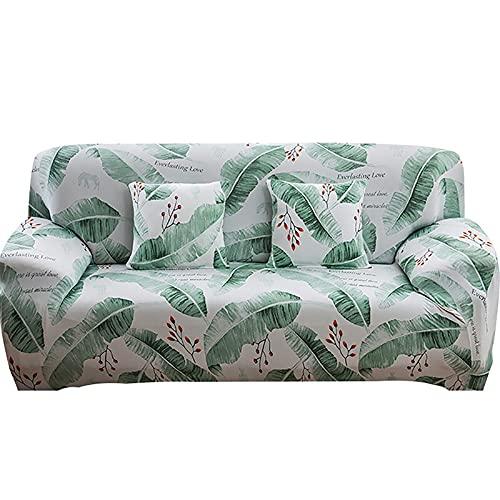 Juego de Fundas elásticas para sofá para Sala de Estar, Toalla para sofá, Fundas Antideslizantes para sofá, Funda para sofá, 1/2/3/4 plazas, A2, 4 plazas
