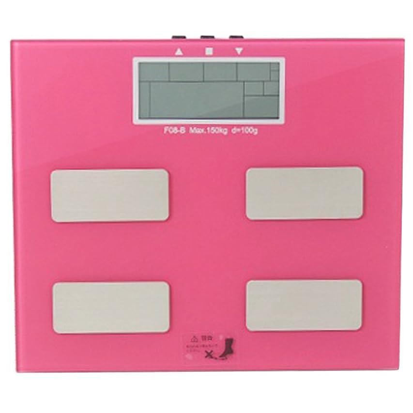 絵パッケージ割り当てるSIS 体組織計 F08 ピンク FEF-F08-B-PK 1台 4571221659606