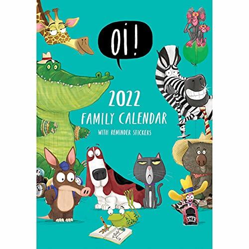 Portico Designs – Oi! A3 Family Calendar 2022 (C22089)