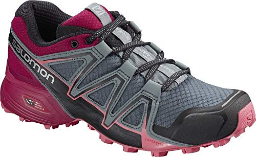 Salomon L40494300 Synthetic Wo Speed Cross Vario 2 Trail Running Shoes, Adult 5 UK (Grey)