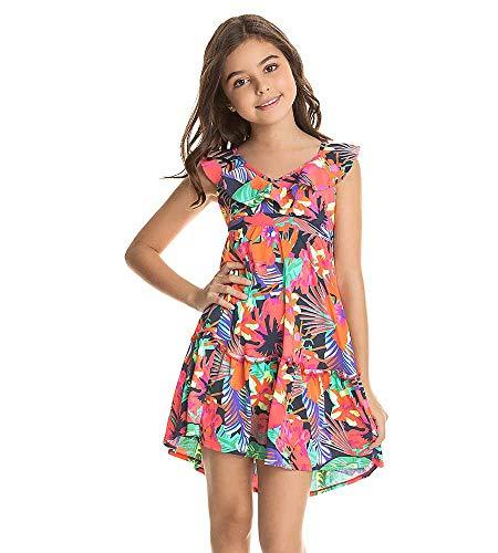 Maaji Mädchen Kids Swimwear & Beachwear Bademode, Cover-Up, Rose, 44 DE
