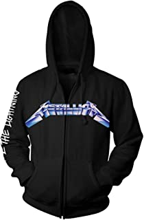 Ride The Lightning' Zip Up Hoodie
