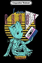 Composition Notebook: Marvel GOTG Vol. 2 Groot I Am Groot Cassette 90's Portrait  Journal/Notebook Blank Lined Ruled 6x9 100 Pages