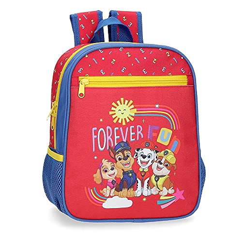 Nickelodeon Forever Fun Bagagli-Borsa a Tracolla, Rosso, 23x28x10 CMS Bambino