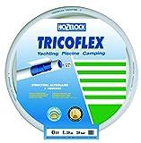 Tricoflex Wasserschlauch Tricoflex Yachting, 15 mm und, 25 m Rolle, Weiß