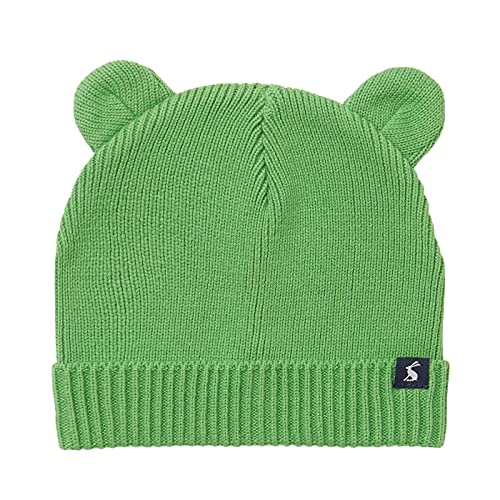 Joules Baby Boys' Cub Cold Weather Hat, Green, 6-12m