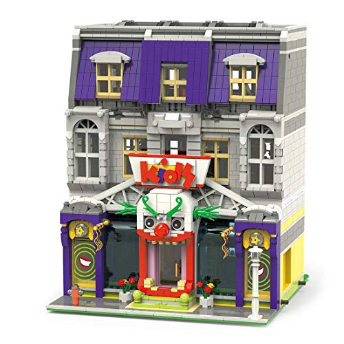 LINANNAN Architecture Building Blocks Model, 3229PCS Moc Joker Park City House Street View Townhouse Tienda Tienda de Juguetes Conjunto de Edificios modulares Compatible con Lego