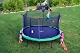 Propel Trampolines 14 Foot Heavy Duty Trampoline Combo, Green (P1496-BB)