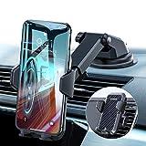 VANMASS Handyhalterung Auto Handyhalter fürs Auto 3 in 1 Kfz Handyhalterung Lüftung und Saugnapf Halter 100prozent Silikon Schutz Smartphone Halterung Auto für iPhone Samsung Huawei Mate LG (Upgrade Version)