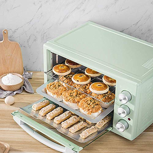 Buy Discount WSJTT Toaster Oven Toaster SpeedBaking, for Toast/Bake/Broil Function 32l Large Oven Ho...