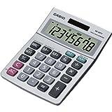 Casio MS-80S-S-IH Desktop Calc w/8-DIGIT Display Tax Currecy Profit Margin % +/- Simple Calculator