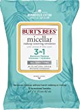 Burts Bees Micellar Makeup Removing Towelettes with Coconut & Lotus Water, 30 Count (Package May Vary)