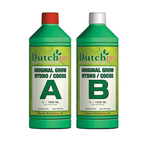 Dutch Pro Original Hydro Coco Grow A+B 1 Litre 1L Plant Nutrients...