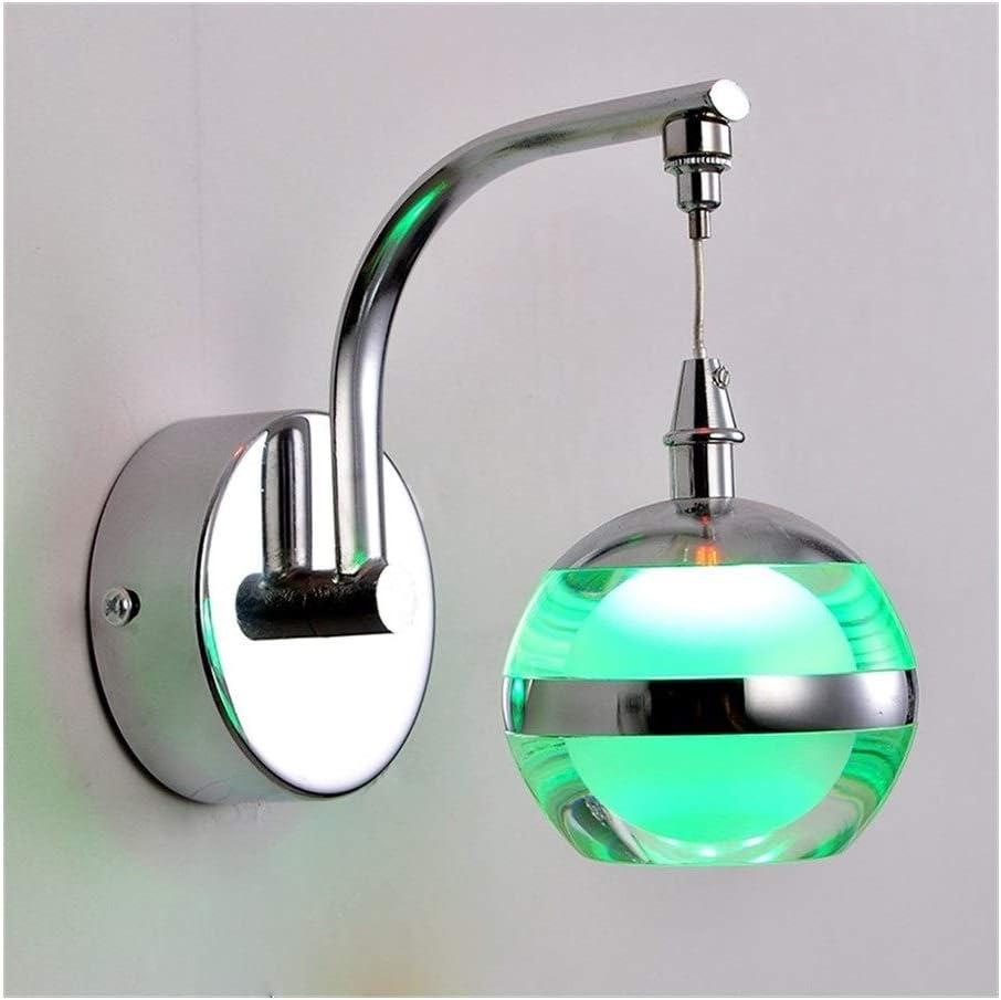 QIFFIY Wall Fees free!! Light Led Colorado Springs Mall Lamp 110V Creative Bedr Acrylic 240V