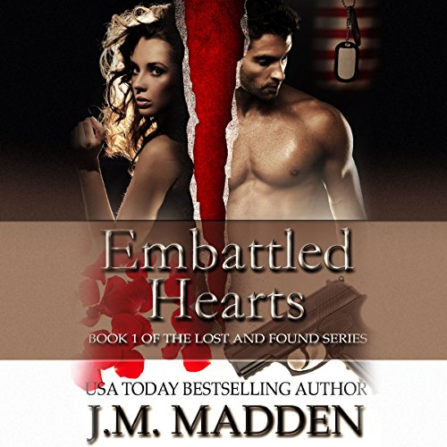 Embattled Hearts audiobook cover art