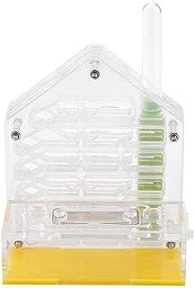 ochunアリ飼育箱 蟻用飼育ケース 通気性 保湿性 アリ繁殖 透明アクリル 子供 趣味 昆虫飼育 科学教育用 アリ餌やり 12 * 10 * 6.5 cm