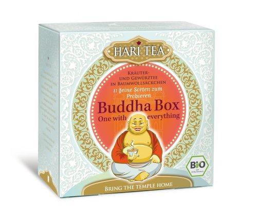 Hari Tea Buddha Box / One with everything (11 feine Sorten), 2er Pack (2 x 22 g) - Bio