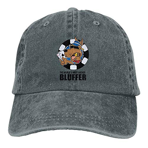 Preisvergleich Produktbild lanka Cool Dog Cigar Unisex Washed Adjustable Fashion Cowboy Hat Denim Baseball Caps