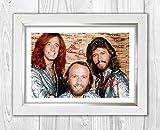 Gravia Digital Bee Gees (3) Reproduktion Autogramm Foto