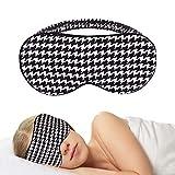 Qiji Silk Sleep Mask Blindfold, Ultrathin Light Blocking,No Pressure On Eyes 3D Contoured Blindfold Silk with Elastic Strap Headband for Eye Cover Eyeshade forYoga Shift Work Travel Nap