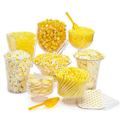 Yellow Candy Kit - Party Candy Buffet Table: 25 to 50 Guests