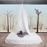 ZJchao - Dosel para cama de algodón para uso como tela decorativa, tienda de juegos para bebé o...
