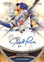 2017 Topps Tier One #PPA-JTR Justin Turner Certfied Autograph Baseball Card - Only 300 made!