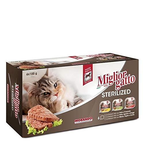Miglior Gatto Sterilized 100 Gr X 6 Vaschette Miste