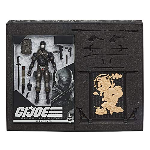 "Hasbro G.I. Joe Classified Series Snake Eyes Deluxe 6"" Exclusive Action Figure"
