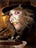 Unbespielt Halloween Karneval Party Kostüm Ratten Schnauze Latexapplikation für Erwachsene